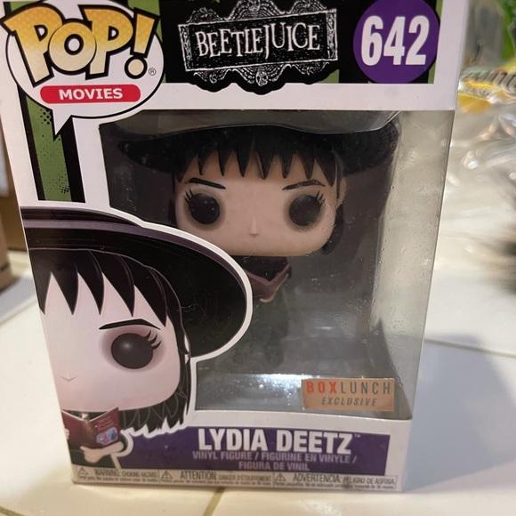 Funko Pop Lydia Deetz #642 Beetlejuice Exclusive!